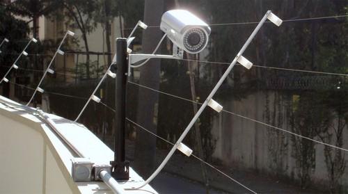 Câmera de segurança para noite