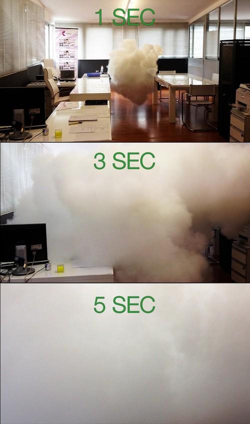 Gerador de neblina de segurança