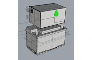Gerador de Neblina Portátil com Bateria
